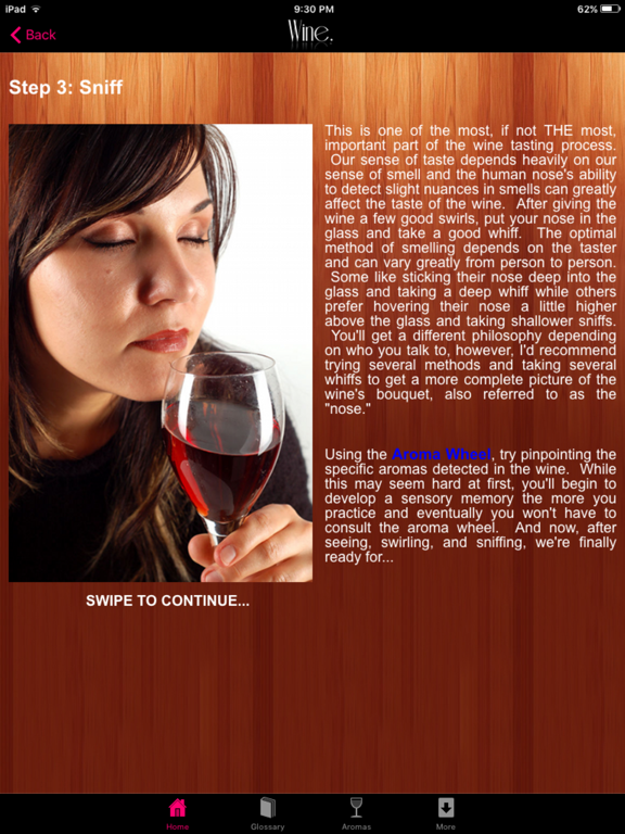 How to Taste Wine - Your Complete Guide to Wine Tasting screenshot