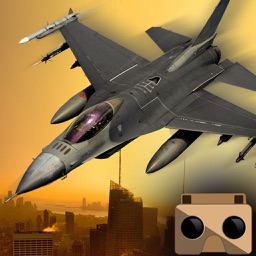 VR Jet Fighter Combat Flight simulator game Best