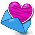 Amar Adesivos - Faça Texto Diversão para iMessage icon
