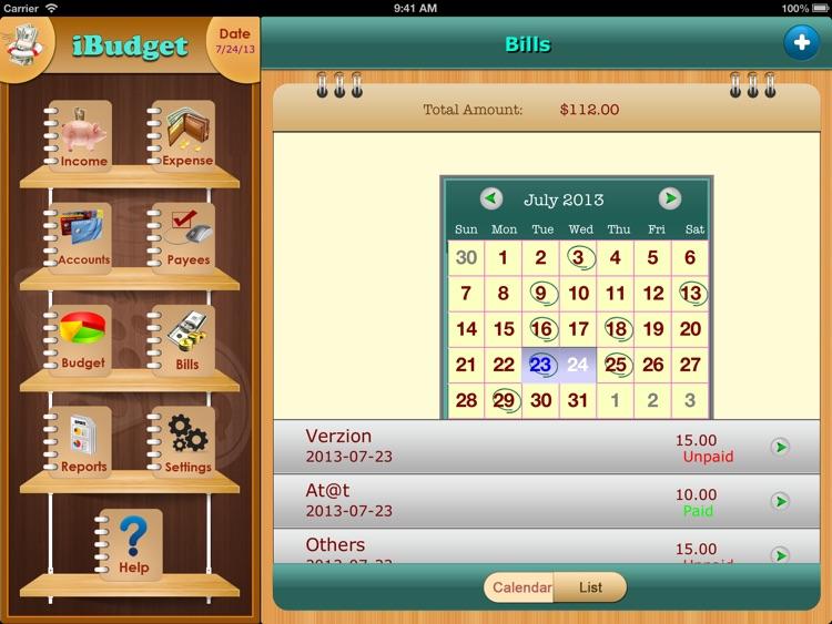 iXpense Tracker for iPad screenshot-3