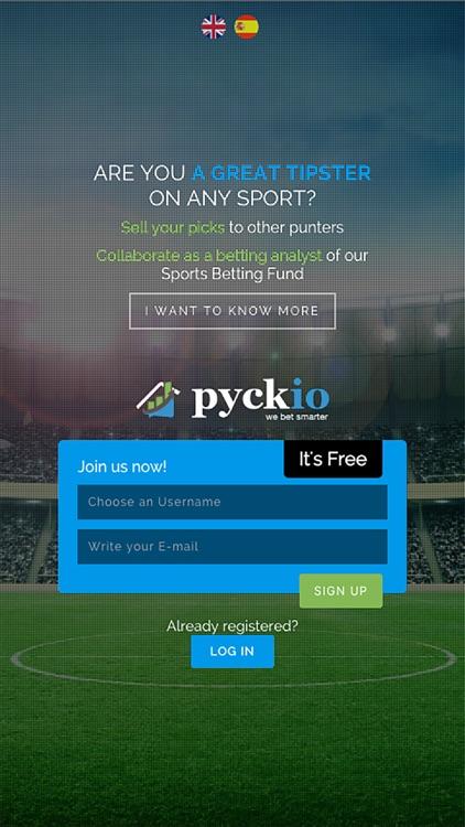 Pyckio - Your Sports Betting Community