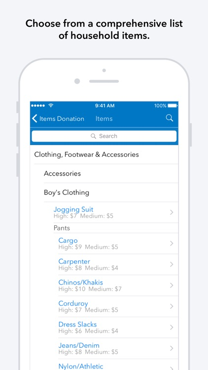 ItsDeductible Charity Donation Tracker screenshot-3