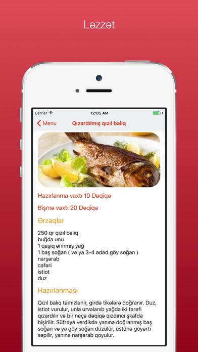 Screenshot #3 pour Lezzet Yemek Tarifleri