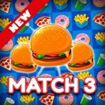 Super Burger Match 3 Deluxe HD