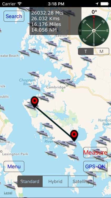 Maryland: Salt Water Boat Ramps screenshot-3
