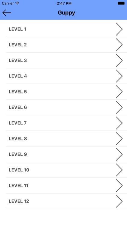 Cheats for WordBubbles - All Level Answers