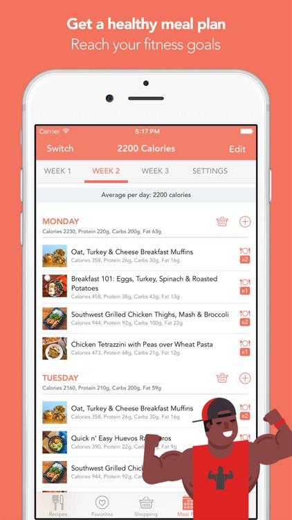 Fit Men Cook - Healthy Recipes app image
