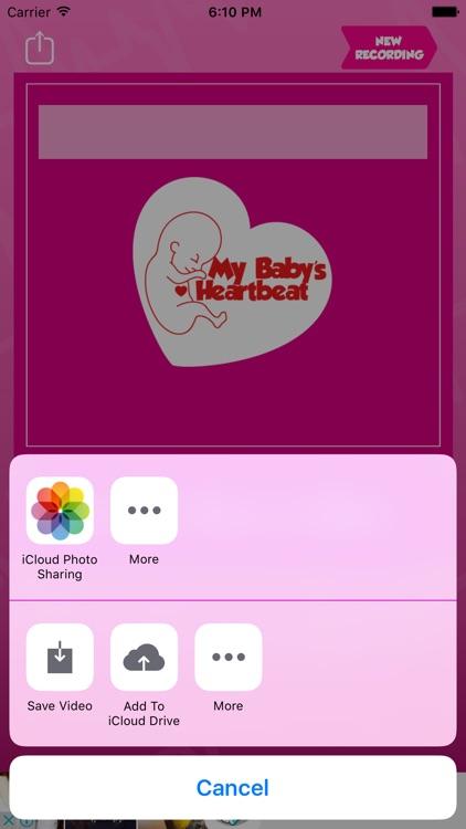 My Baby's Beat - Baby Heart Prenatal Listener screenshot-3