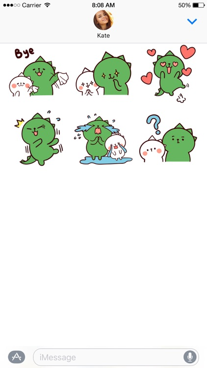 Dino Love stickers screenshot-4