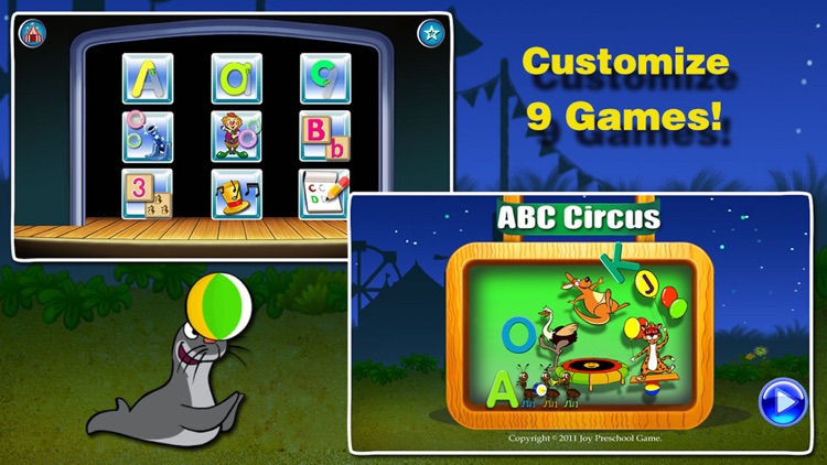 ABC Circus- Toddler Alphabet Learning Games baby