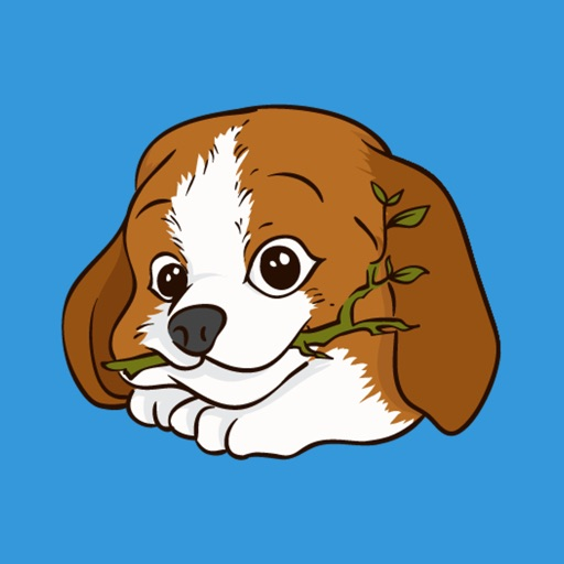 Beagle Love Emojis