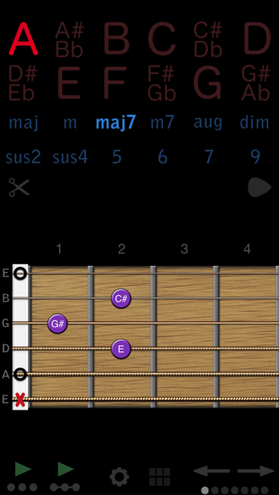 Guitar Chords screenshot one