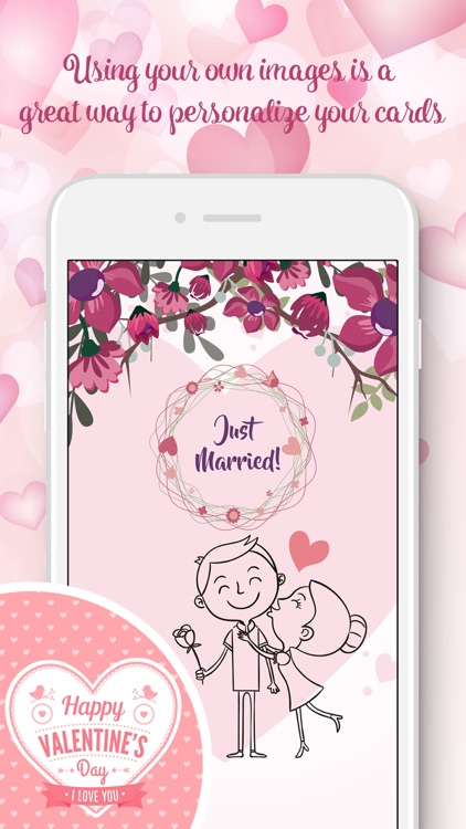 Love cards - card creator for valentines day idea