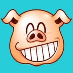 Animated Mr. Pig Stickers For iMessage