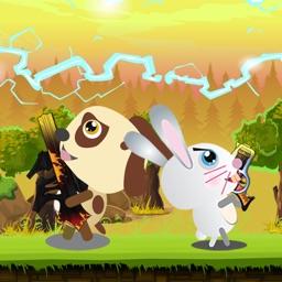 Rabbits Bubble shooter