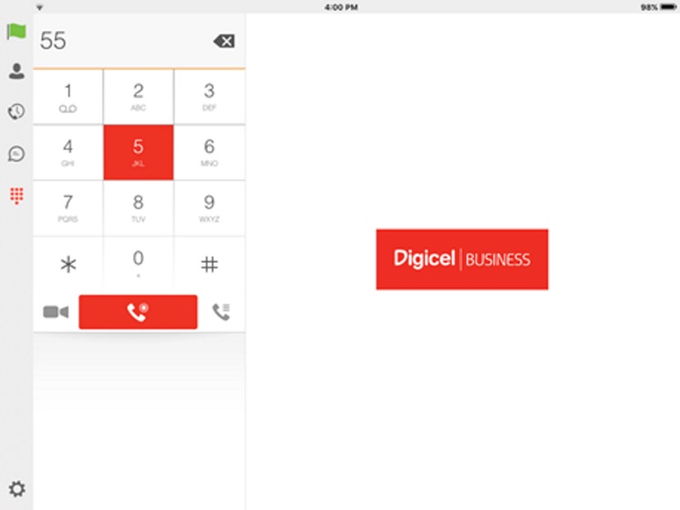 Digicel PNG Hosted PBX for iPad