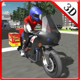 Fast food Motorcycle Delivery & Bike Rider Sim