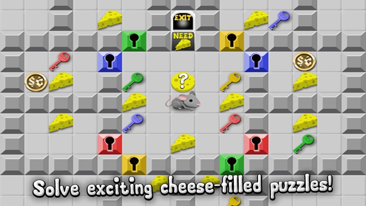 Rodent Rush - Puzzle Challenge Cheese Chips