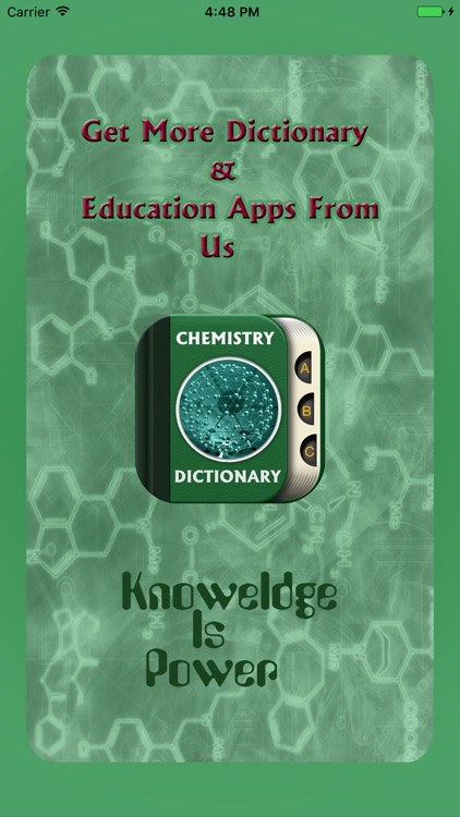 Chemistry Dictionary Offline - Advance Chemistry