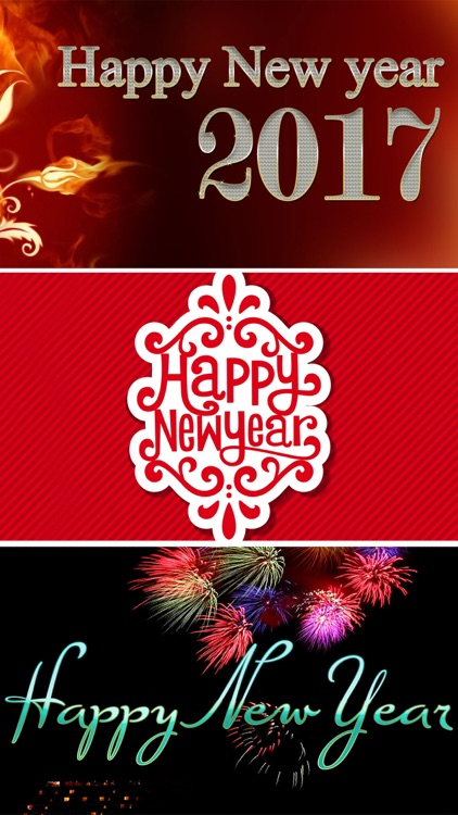 New Year Wallpapers- Greeting Cards & Photo Frames screenshot-3