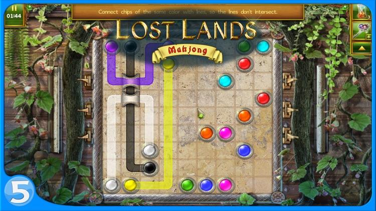 Lost Lands: Mahjong screenshot-3