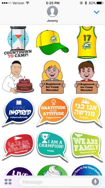 Morasha Stickers