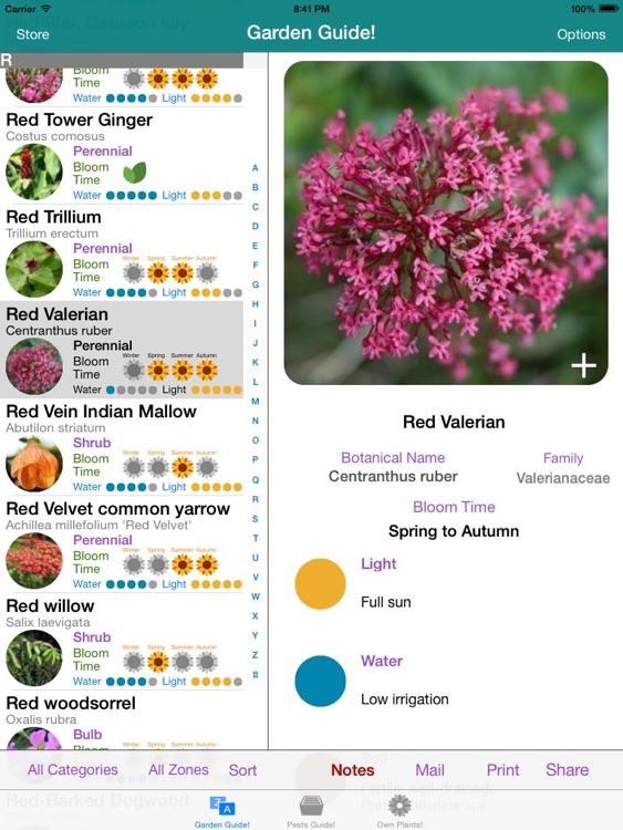 Garden Guide HD!