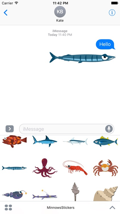 Minnows Stickers