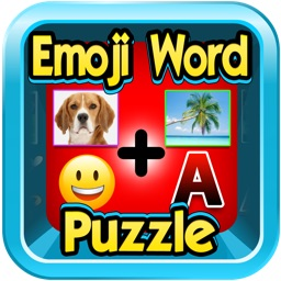 Emoji Word Puzzle Quiz - 2 to 3 pics to Guess the saying to earn coins.