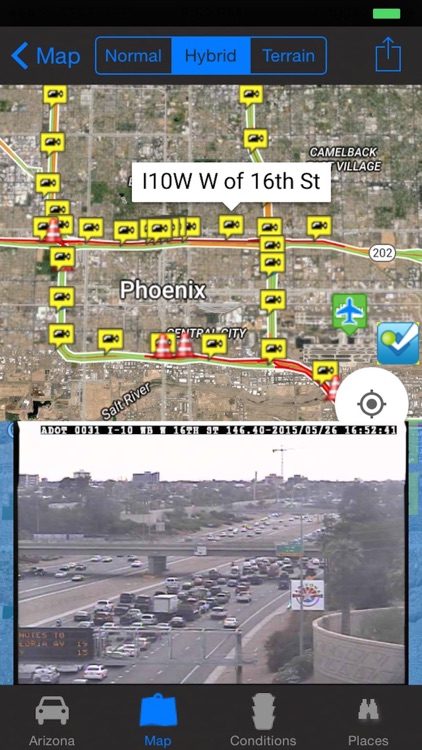 I-10 Road Conditions and Traffic Cameras Pro