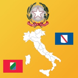 Italy Region Maps and Flags