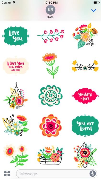 Love Romantic Sticker Pack screenshot-3
