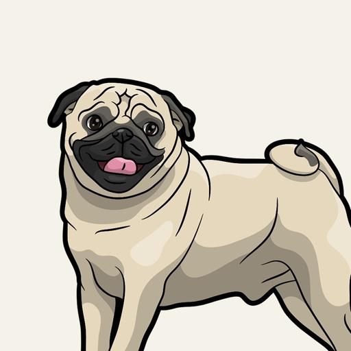 iPugmoji - Pug Emoji & Stickers