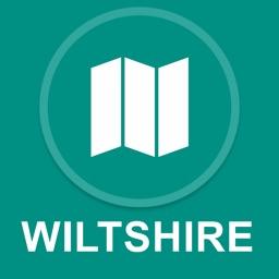 Wiltshire, UK : Offline GPS Navigation