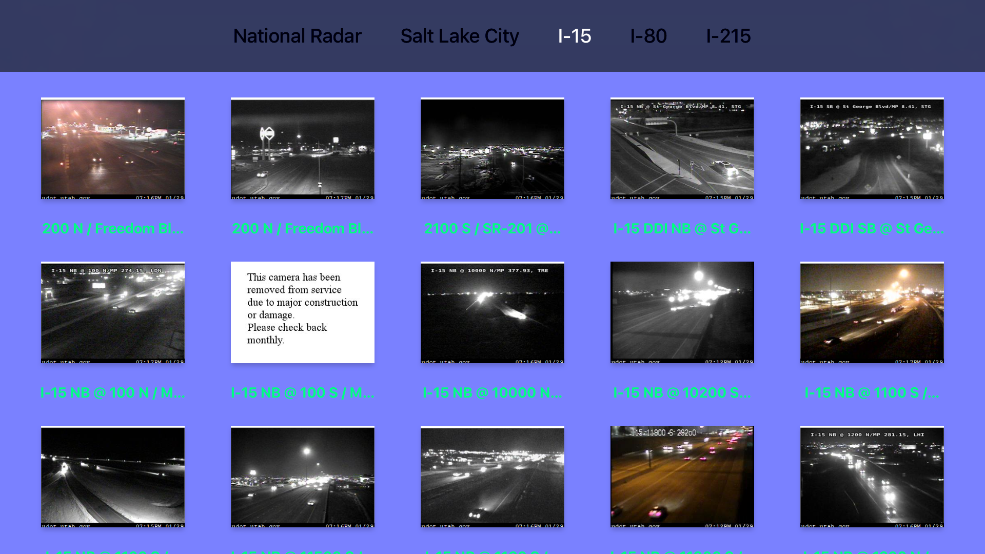 Utah NOAA Radar with Traffic Camera Pro screenshot 13