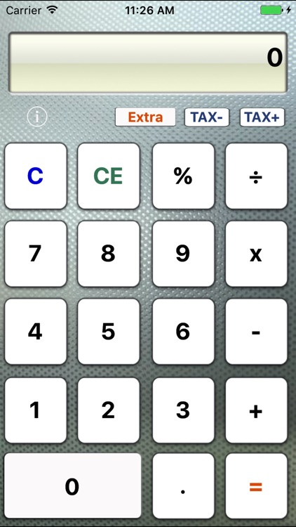 Simple-Extra Calculator