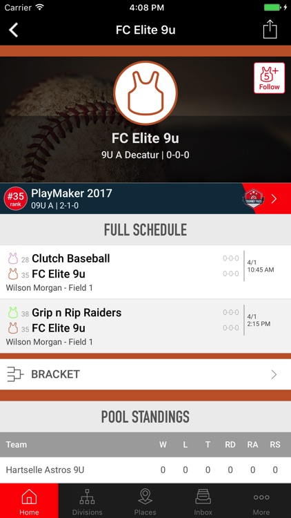 Tourney Machine app image