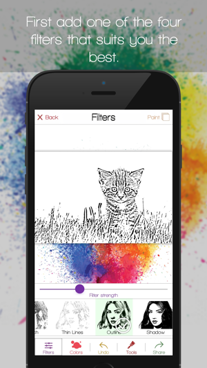 Color Rise - Coloring therapy Screenshot