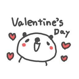 Valentine Happy Panda!!