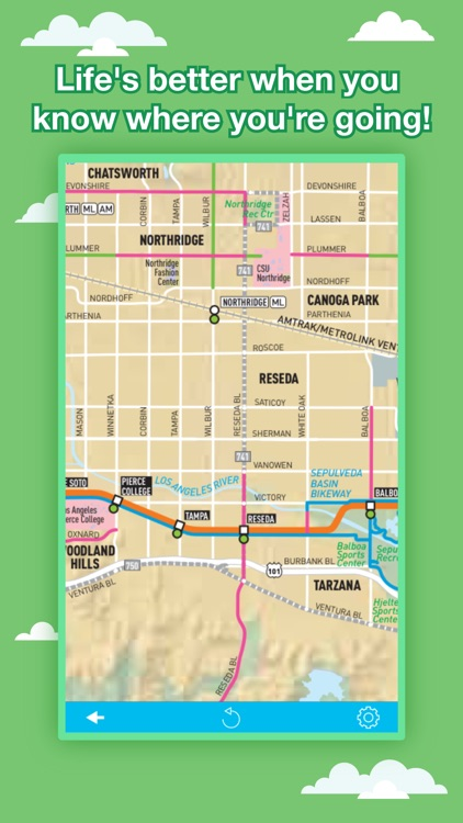 Los Angeles City Maps - Discover LAX MRT & Guides screenshot-4