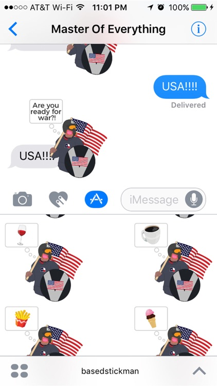 Based Stickman : An American Hero and Patriot screenshot-3