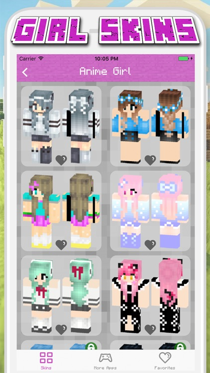 Girl Skins for Minecraft PE - MCPE Skins Free