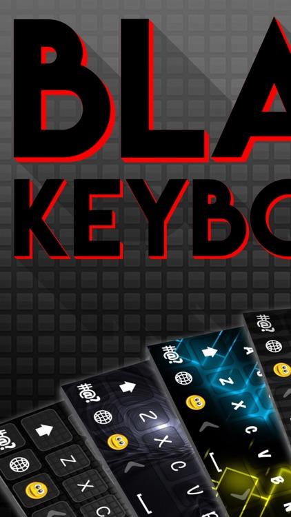 Black Keyboard Skins – Background & Font Changer