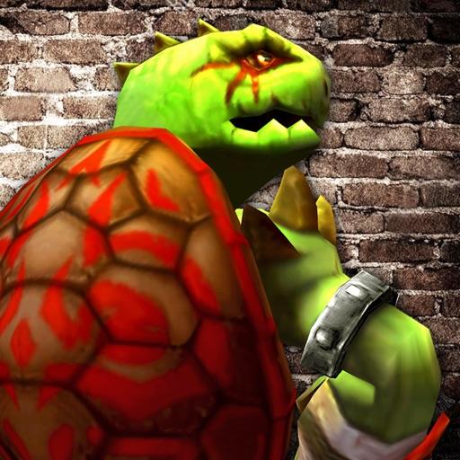 Мутант Черепаха Побег Псих Больница:Выживание Игра