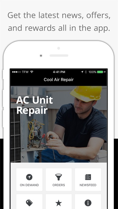 Cool Air Repair app image