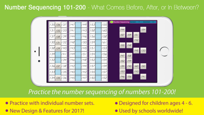 Number Sequencing 101 - 200 screenshot 1