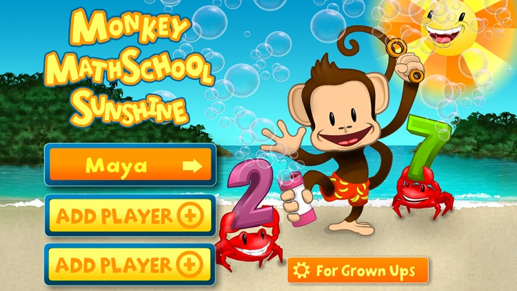 Monkey Math School Sunshine screenshot-3