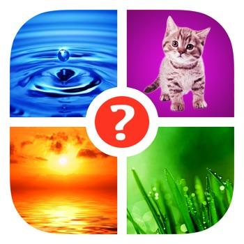 Vind het woord! ~ Quiz met 4 plaatjes en 1 woord