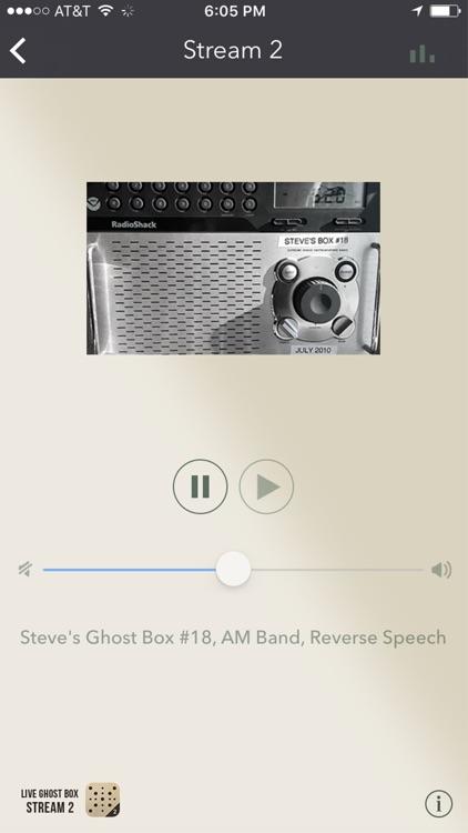 Live Ghost Box Stream 2 screenshot-3