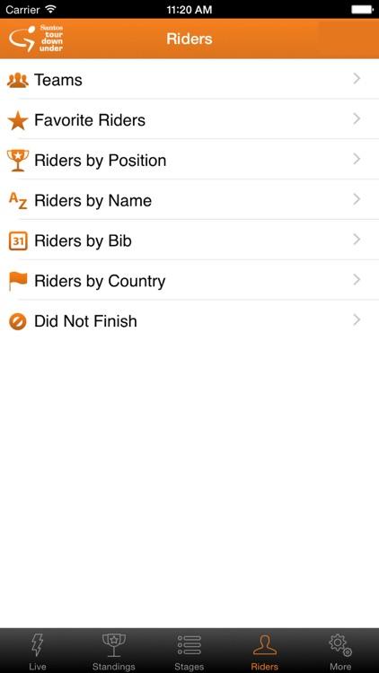 Santos Tour Down Under Tracker screenshot-4
